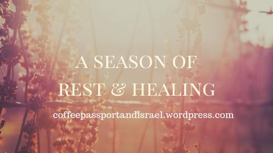 a season of rest & healing